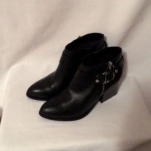 Marc Fisher moto ankle booties